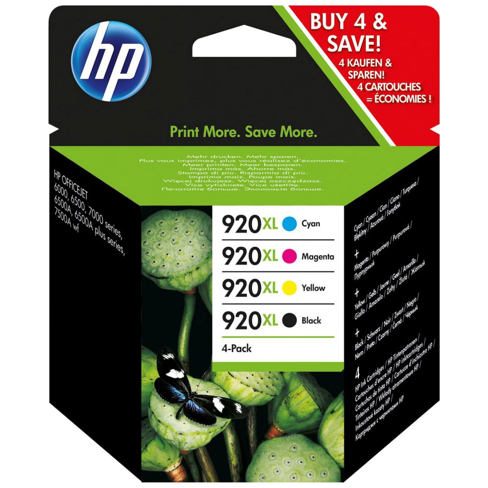 HP-920XL--C2N92AE--SET-DE-4-CARTUSE