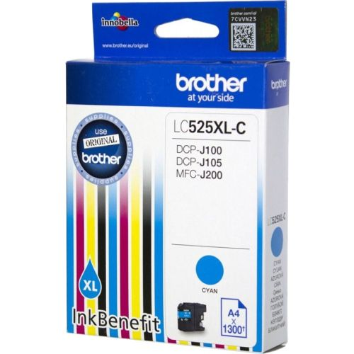 BROTHER-LC525XLC-CARTUS-CYAN