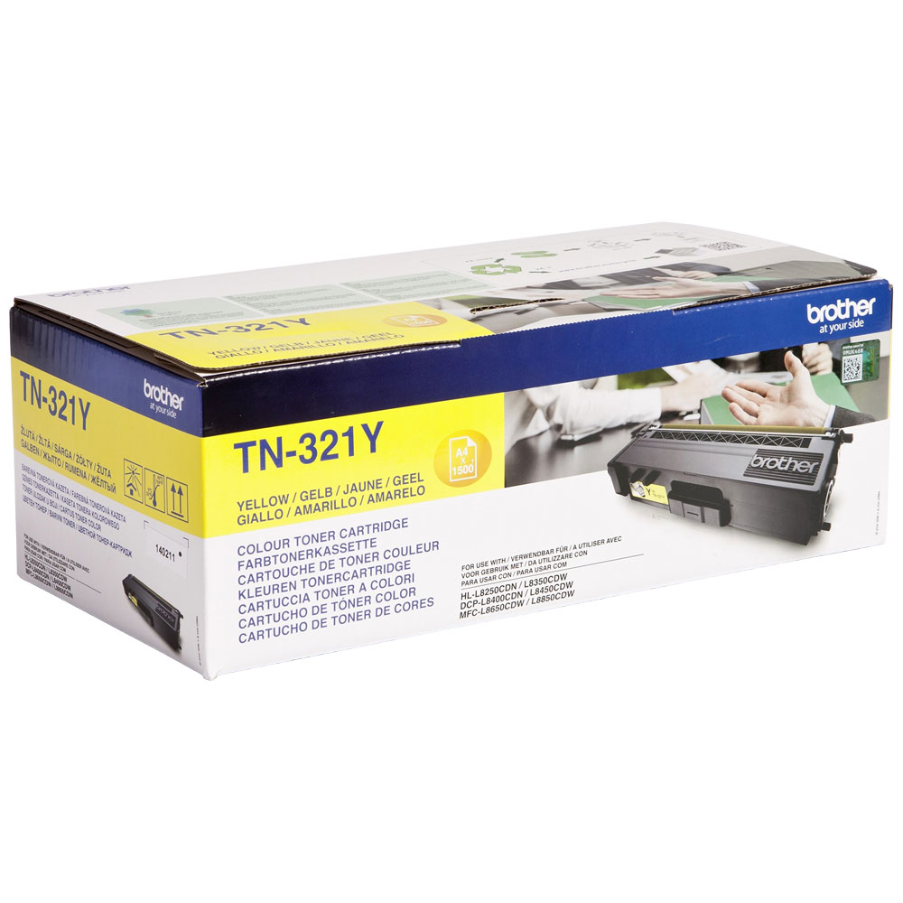 BROTHER-TN-321Y-CARTUS-TONER-YELLOW
