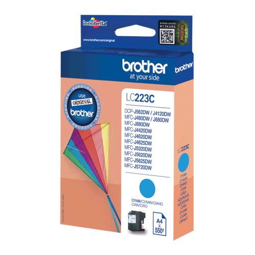 BROTHER-LC223C-CARTUS-COLOR-CYAN