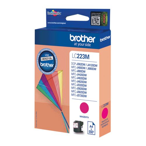 BROTHER-LC223M-CARTUS-COLOR-MAGENTA