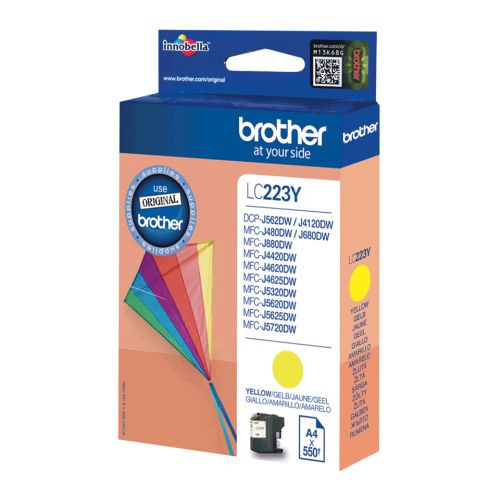 BROTHER-LC223Y-CARTUS-COLOR-YELLOW