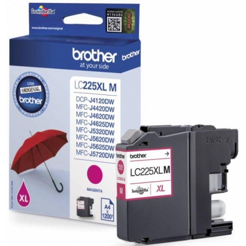 BROTHER-LC225XLM-CARTUS-COLOR-MAGENTA